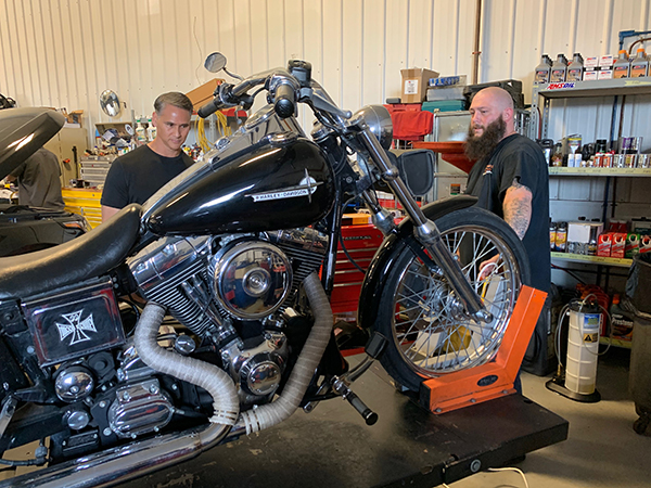 Motorcycle Repair Easton MD